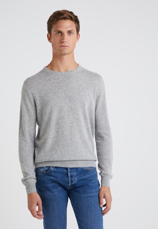 CONSINEE CREW - Strickpullover - heather grey