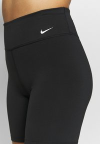 Nike Performance - ONE SHORT - Tights - black/white - 4