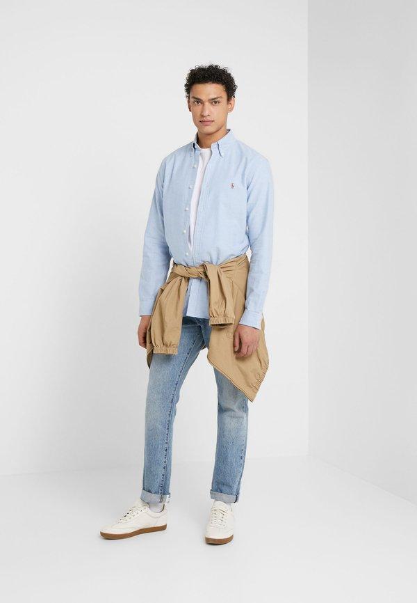 Polo Ralph Lauren OXFORD SLIM FIT - Koszula - BLUE/niebieski Odzież Męska TVBE