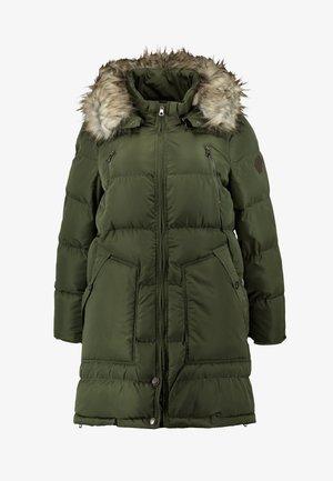 CARRHODA WINTER COAT - Winter coat - forest night