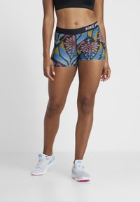 Nike Performance - SHORT FEMME - Tights - black/phantom - 0