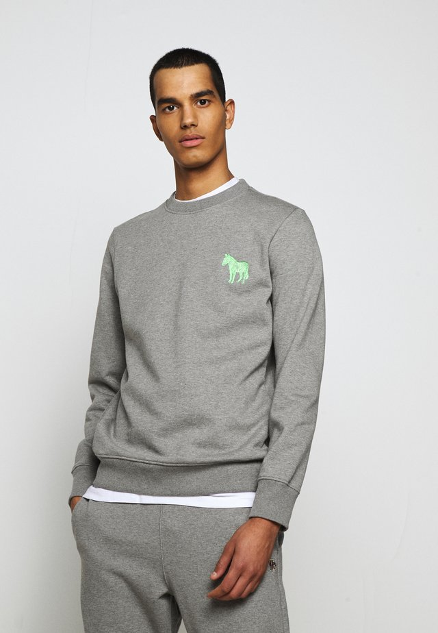 MENS ZEBRA - Sweatshirt - mottled grey