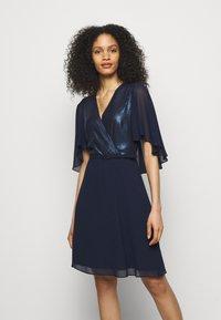 Lauren Ralph Lauren - GRACEFUL DRESS - Cocktail dress / Party dress - lighthouse navy - 0