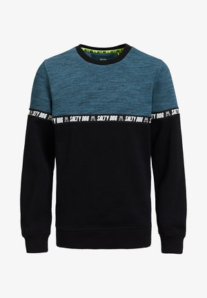 MET TAPEDETAIL - Sweater - blue