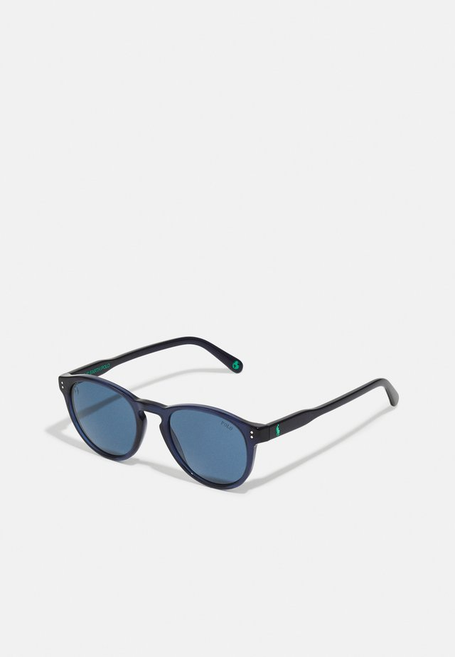 UNISEX - Gafas de sol - shiny transparent blue