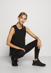 Cotton On Body - ACTIVE HIGHWAIST CORE - Medias - core black - 3