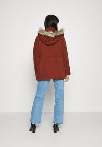 JDY - JDYSTAR WINTER  - Zimní kabát - brown - 2