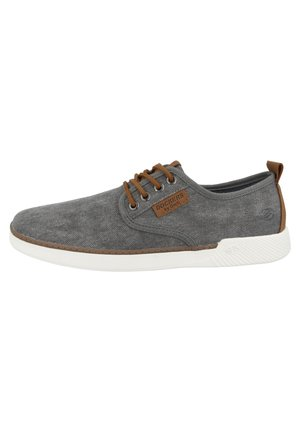 Casual lace-ups - light grey