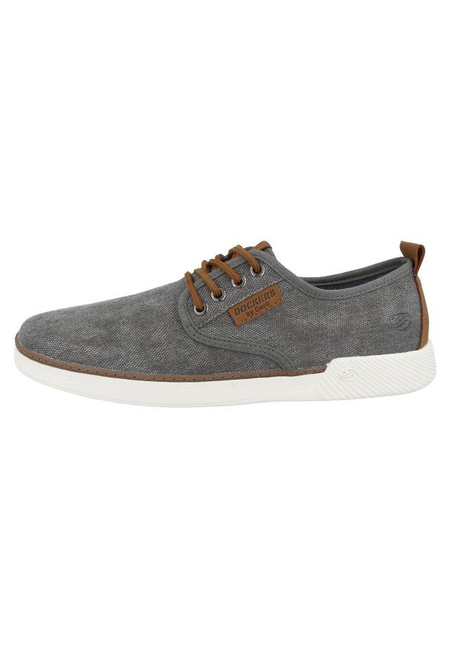 Zapatos con cordones - light grey