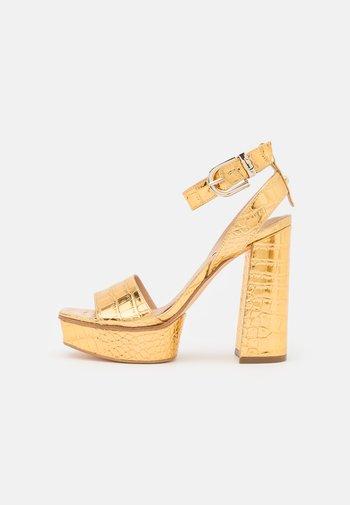 RIPPA - Platform sandals - gold