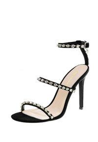 PRIMA MODA - VECCHIA - High heeled sandals - black - 1