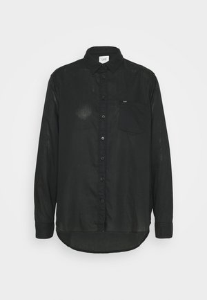 ONE POCKET - Skjorte - black