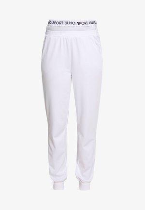 PANT - Tracksuit bottoms - bianco ottico