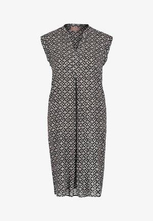 SOMMER OHNE ARM - Day dress - weiß/schwarz