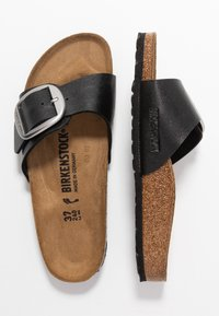 Birkenstock - MADRID BIG BUCKLE - Mules - graceful licorice - 3