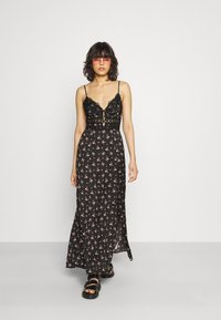 Free People - OUT ABOUT - Maxi dress - black combo - 1