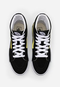 Vans - SK8 - Zapatillas altas - black/blazing yellow/true white - 3