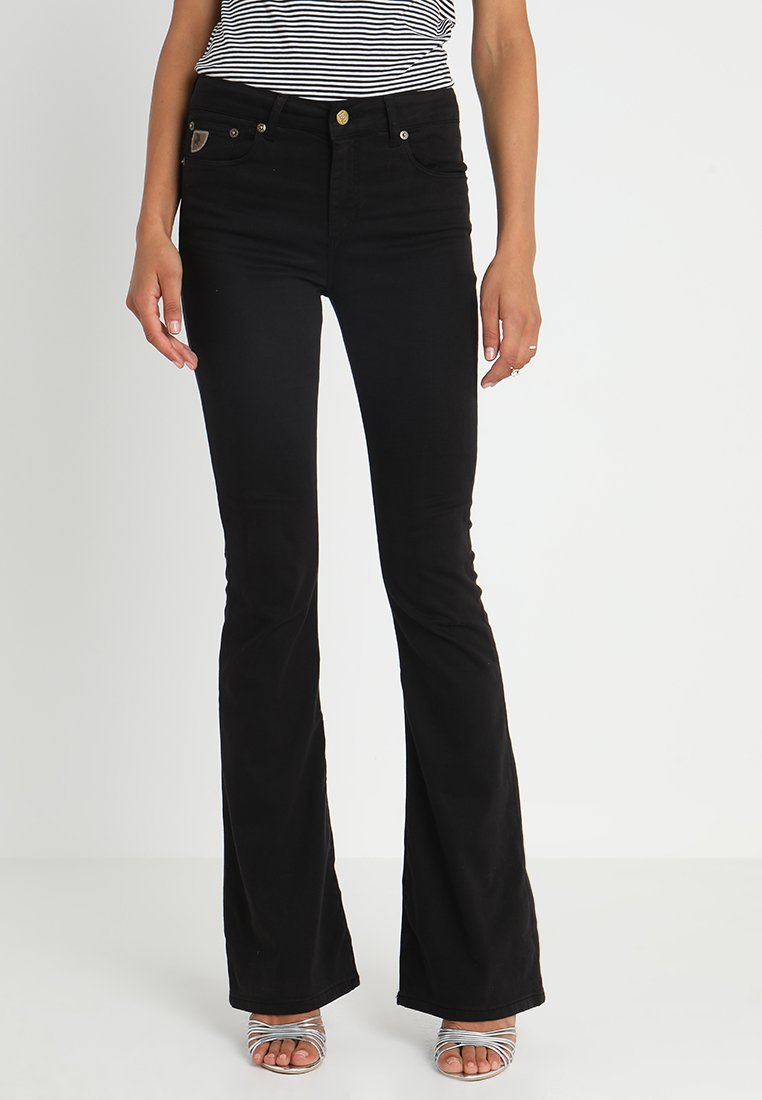 LOIS Jeans - RAVAL LEA SOFT COLOUR - Bukse - black