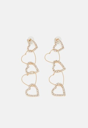 STATEMENT DROP EARRINGS - Oorbellen - gold-coloured