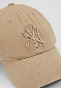 '47 - NEW YORK YANKEES CLEAN UP UNISEX - Cap - khaki - 5