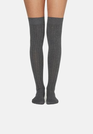 Over-the-knee socks - grigio