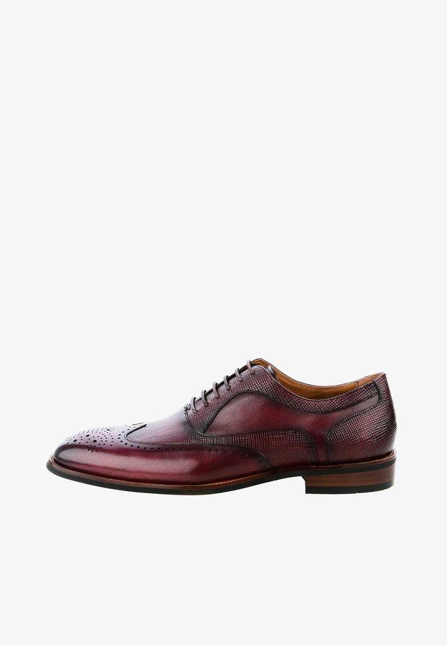 ALIENO  - Zapatos de vestir - bordeux