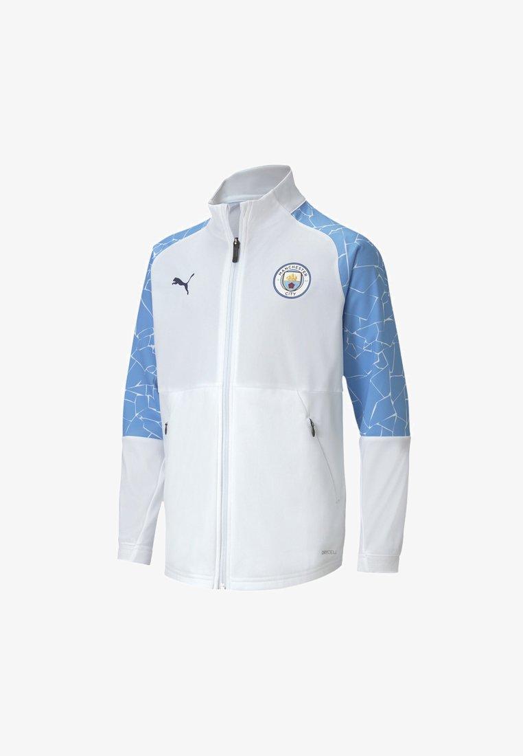 Puma - CITY STADIUM YOUTH  - Club wear - puma white-team light blue