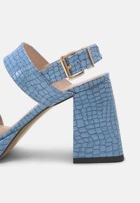L37 - LOSE MYSELF - Sandals - blue - 8