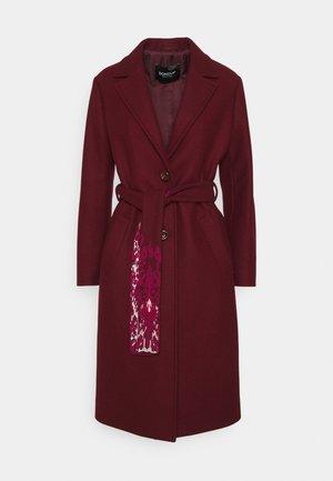 CAPPOTTO - Classic coat - red-purple