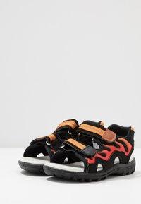 Pax - FIREFLY - Walking sandals - black - 3