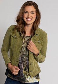 GINA LAURA - Summer jacket - gelbgrün - 0