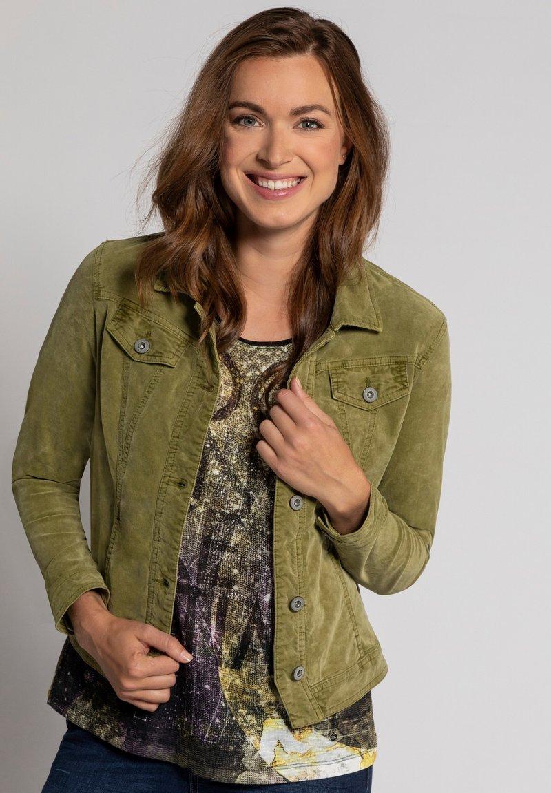 GINA LAURA - Summer jacket - gelbgrün