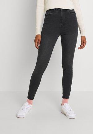 VMSANDRA - Jeans Skinny Fit - dark grey denim