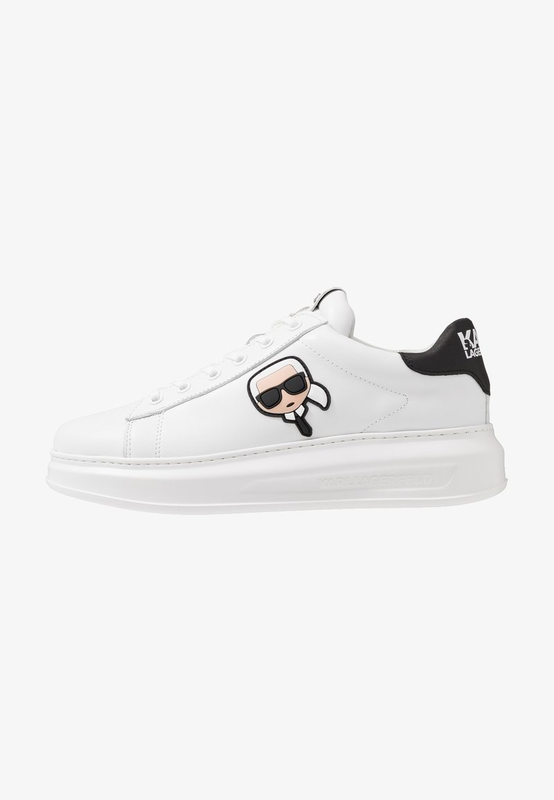 KARL LAGERFELD - KAPRI MENS IKONIC 3D LACE - Baskets basses - white