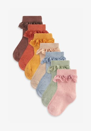 7 PACK - Sokken - brown