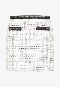 faina - TWEED - A-line skirt - weiß - 4