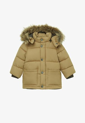 LUCA - Winter jacket - okker