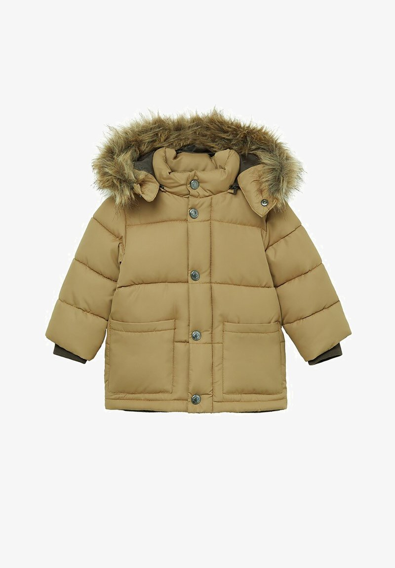 Mango - LUCA - Zimní bunda - okker