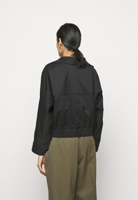 3.1 Phillip Lim - JACKET WITH EXAGGERATED COLLAR - Light jacket - black - 3