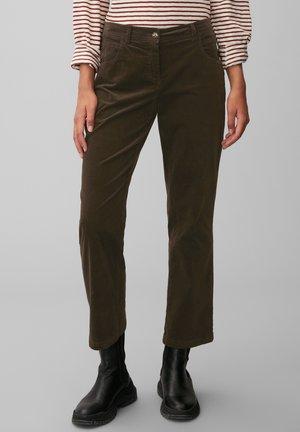Trousers - dark chocolate