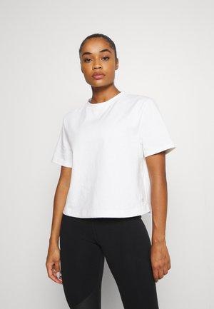 BOXY TEE - T-Shirt basic - white