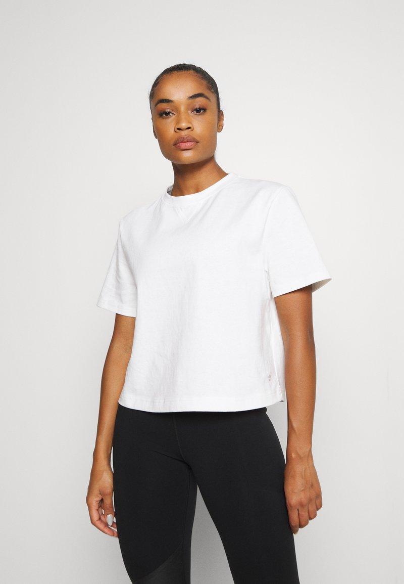 Sweaty Betty - BOXY TEE - Basic T-shirt - white