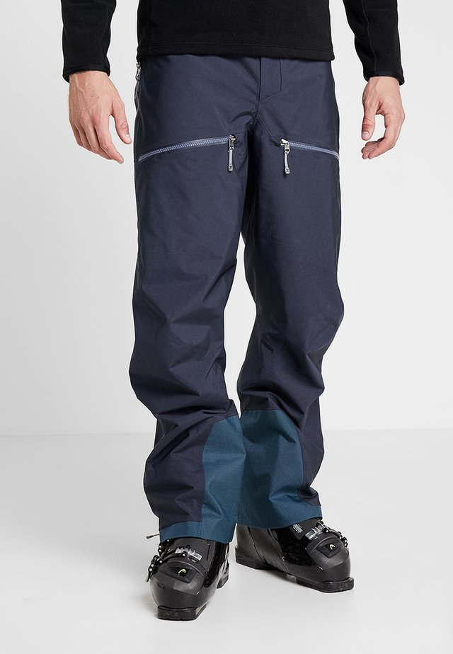PURPOSE PANTS - Ski- & snowboardbukser - bucket blue