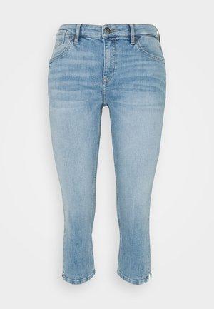 CAPRI - Denim shorts - blue light wash