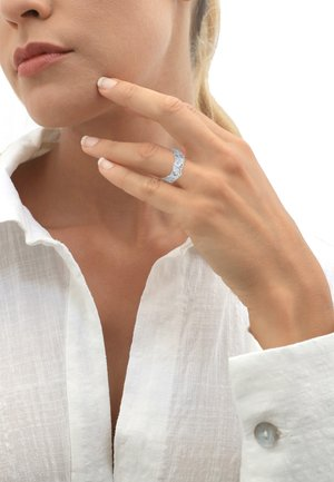 GINGKO BLATT TROPIC  - Ring - silber