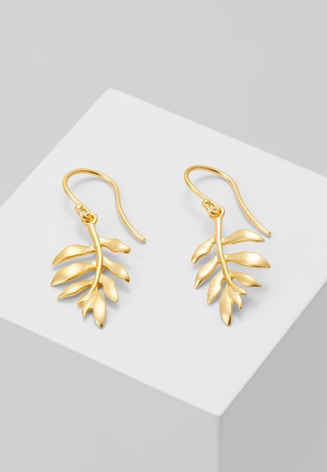 LITTLE TREE OF LIFE EARRING - Earrings - gold-coloured