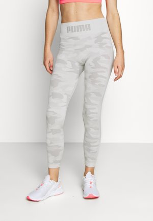 EVOKNIT SEAMLESS LEGGINGS - Punčochy - lunar rock