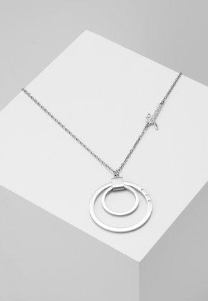 ETERNAL CIRCLES - Necklace - silver-coloured