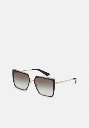 Sunglasses - black/pale gold-coloured