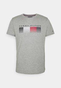 FADE GRAPHIC CORP TEE - Camiseta estampada - light grey heather